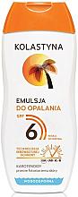 Profumi e cosmetici Protezione solare - Kolastyna Suncare Emulsion SPF6