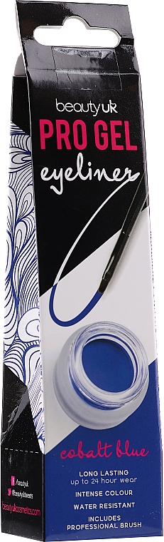 Eyeliner liquido waterproof - Beauty UK Pro Gel Eyeliner