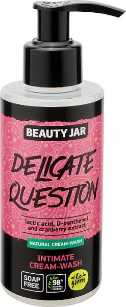 Gel-crema per l'igiene intima - Beauty Jar Delicate Question Intimate Cream-Wash