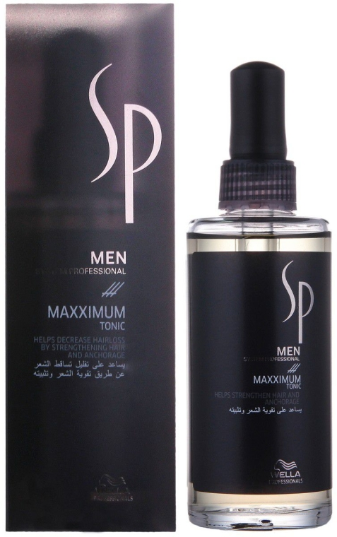 Tonico anti-perdita dei capelli - Wella SP Men Maxximum Tonic
