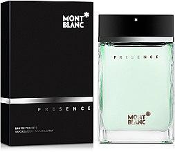 Profumi e cosmetici Montblanc Presence - Eau de toilette