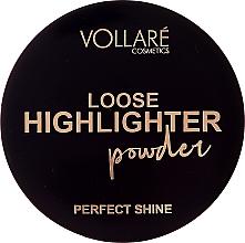 Profumi e cosmetici Illuminante in polvere - Vollare Loose Highlighter Powder Perfect Shine