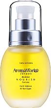 Profumi e cosmetici Siero viso nutriente - AromaWorks Nourish Face Serum