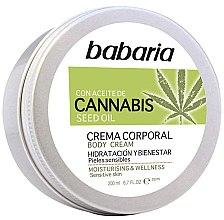 Profumi e cosmetici Crema corpo - Babaria Cannabis Moisturizing Body Cream