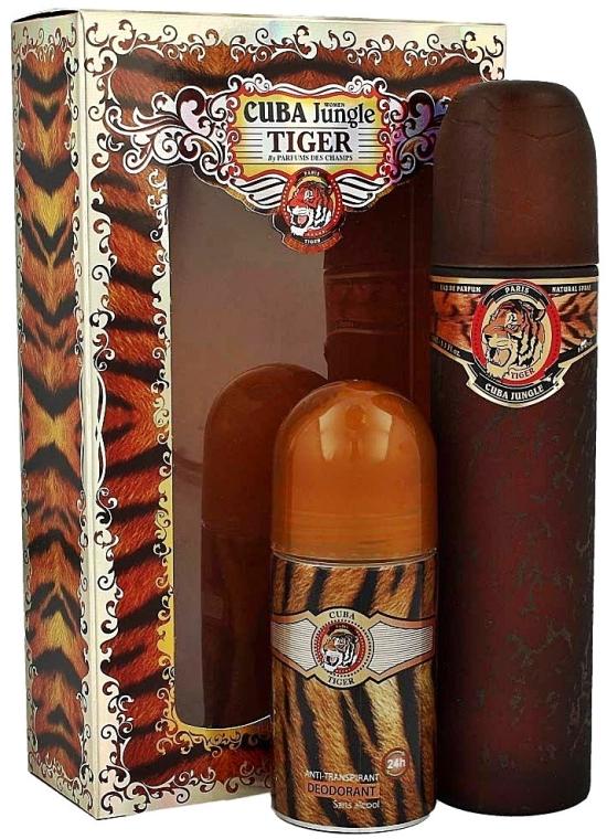 Cuba Jungle Tiger - Set (edp 100ml + deo 50ml)