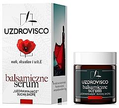 """Profumi e cosmetici Siero balsamico per pelli secche """"Papavero"""" - Uzdrovisco Balsamic Serum Face"""