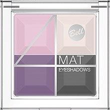 Profumi e cosmetici Ombretto opaco - Bell 4 Mat Eyeshadows