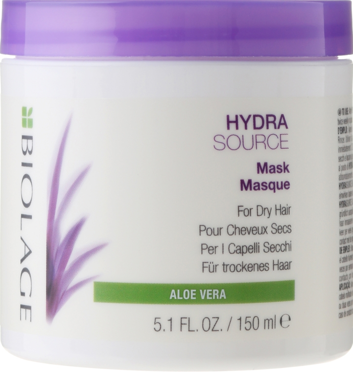 Maschera idratante per capelli secchi - Biolage Hydrasource Mask For Dry Hair