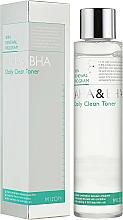 Profumi e cosmetici Tonico viso - Mizon AHA & BHA Daily Clean Toner