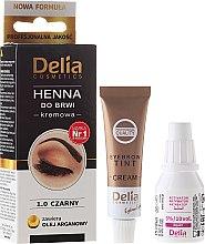 Profumi e cosmetici Crema-tinta per sopracciglia - Delia Cosmetics Cream Eyebrow Dye