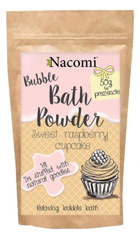 Polvere da bagno - Nacomi Sweet Raspberry Cupcake Bath Powder