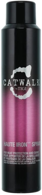 Spray termico per lucentezza dei capelli - Tigi Catwalk Haute Iron Spray