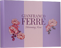 Profumi e cosmetici Gianfranco Ferre Blooming Rose - Set (edt/50ml + b/lotion/100ml)