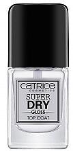 Profumi e cosmetici Top coat - Catrice Super Dry Gloss Top Coat