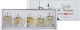 Profumi e cosmetici Charrier Parfums Secrets De Parfums - Set (edp/9.9ml+edp/10.5ml+edp/9.9ml+edp/9.9ml+edp/9.8ml)