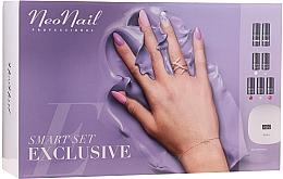 Profumi e cosmetici Set per manicure - NeoNail Smart Set Exclusive (led/lamp + base/7.2ml + top/7.2ml + nail/polish/5x3ml + nail/cleaner/50ml + remover/50ml + n/swab + nail/file/2pcs)