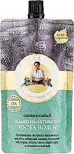 Profumi e cosmetici Shampoo attivatore per stimolare la crescita dei capelli - Ricette della nonna Agafia Bania