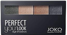 Profumi e cosmetici Ombretto Quattro colori - Joko Perfect Your Look Quattro Eye Shadows New