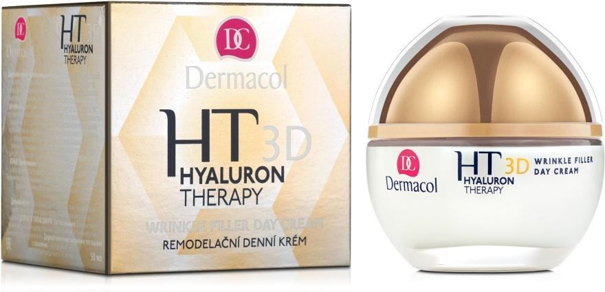 Crema da giorno all'acido ialuronico puro - Dermacol Hyaluron Therapy 3D Wrinkle Day Filler Cream