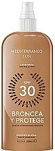 Profumi e cosmetici Lozione solare - Mediterraneo Sun Suntan Lotion SPF30
