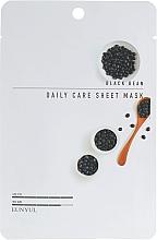 Profumi e cosmetici Maschera viso in tessuto all'estratto di fagioli neri - Eunyul Black Bean Daily Care Sheet Mask