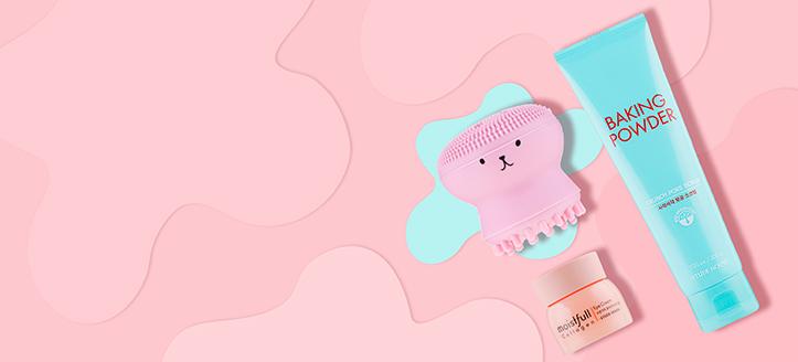 Acquistando prodotti Etude House da 40 €, ricevi in regalo una spazzola in silicone per la pulizia del viso