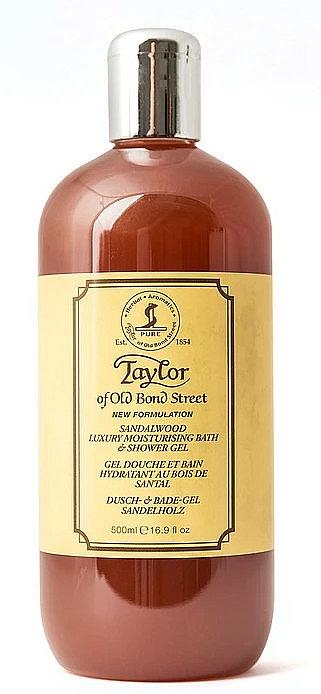 Taylor of Old Bond Street Sandalwood Shower Gel - Gel doccia