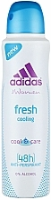 Profumi e cosmetici Deodorante - Adidas Anti-Perspirant Fresh Cooling 48h
