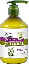 Profumi e cosmetici Condizionante con estratto di liquirizia per cuoio capelluto sensibile - O'Herbal