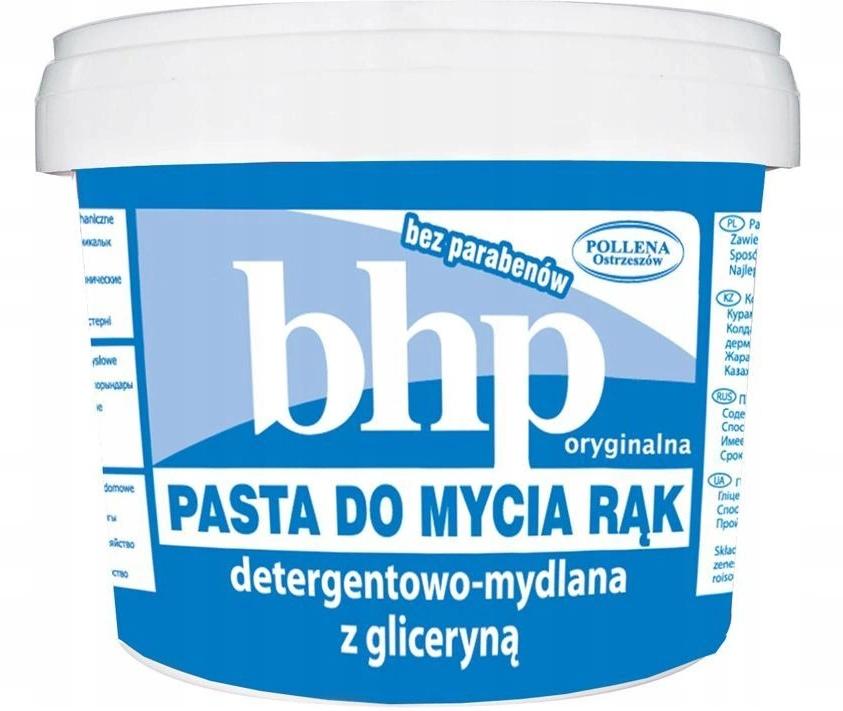 Pasta lavamani - BHP Handwashing Paste