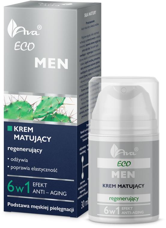 Crema viso opacizzante rigenerante - Ava Laboratorium Eco Men Cream — foto N1