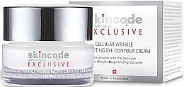 Profumi e cosmetici Crema contorno occhi cellulare antirughe - Skincode Exclusive Cellular Wrinkle Prohibiting Eye Contour Cream