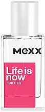 Profumi e cosmetici Mexx Life is Now for Her - Eau de toilette