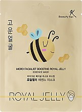 Profumi e cosmetici Maschera in tessuto - Beauty Kei Micro Facialist Boosting Royal Jelly Essence Mask