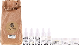 Profumi e cosmetici Set per pelli grasse e combinate - Shy Deer (emulsion/7ml + peel/7ml + tonic/7ml + elixir/1.5ml + cr/2ml + cr/3ml + cr/3ml)