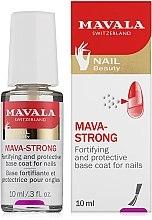 Profumi e cosmetici Top Coat trasparente per unghie - Mavala Colorfix Strong Flexible Top Coat