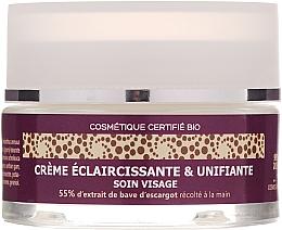 Profumi e cosmetici Crema viso illuminante con il 55% di bava di lumaca - Mlle Agathe Face Cream