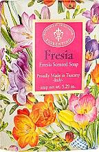 """Profumi e cosmetici Sapone naturale """"Fresia"""" - Saponificio Artigianale Fiorentino Masaccio Freesia Soap"""