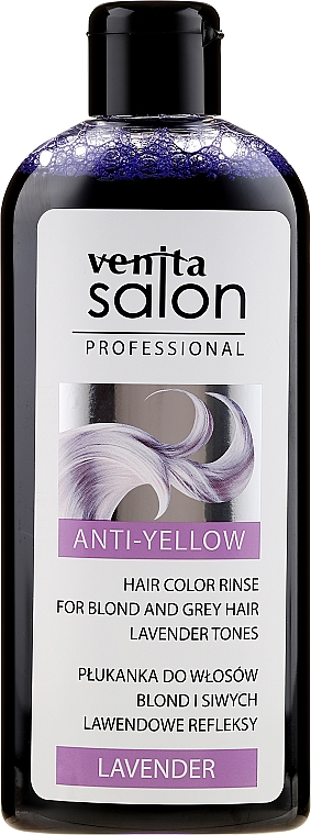 Balsamo per capelli decolorati e grigi - Venita Salon Professional Lavender Anti-Yellow Hair Color Rinse