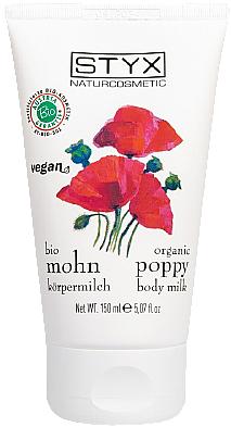 "Latte corpo ""Papavero"" - Styx Naturcosmetic Mohn Poppy Body Milk — foto N1"