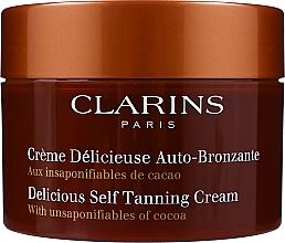 Profumi e cosmetici Crema - Clarins Delicious Self Tanning Cream