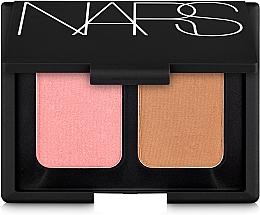 Profumi e cosmetici Palette viso - Nars Blush Bronzer Duo