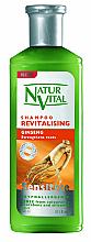 "Profumi e cosmetici Shampoo rivitalizzante ""Ginseng"" - Natur Vital Revitalizing Sensitive Ginseng Shampoo"