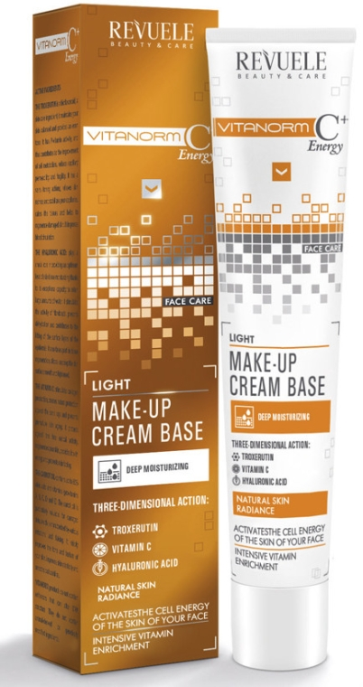 Crema leggera - Revuele Vitanorm C+ Energy Cream Base