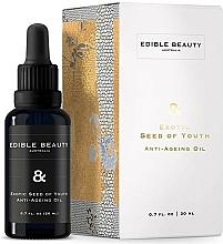 Profumi e cosmetici Olio viso antietà - Edible Beauty Exotic Seed of Youth Anti-Ageing Oil