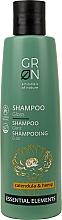 Profumi e cosmetici Shampoo illuminante alla camomilla - GRN Essential Elements Brillance Calendula & Hemp Shampoo