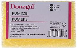 Profumi e cosmetici Pietra pomice per i piedi 9990, gialla - Donegal