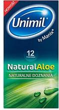 Profumi e cosmetici Preservativi, 12 pz - Unimil Natural Aloe