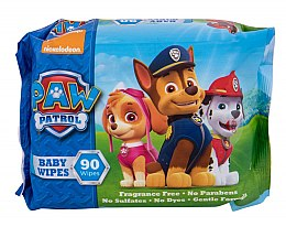 Profumi e cosmetici Salviettine umidificate, 90 pezzi - Nickelodeon Paw Patrol Baby Wipes