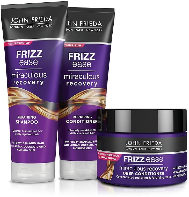 """Shampoo """"Recupero meraviglioso"""" per capelli danneggiati - John Frieda Frizz Ease Miraculous Recovery Shampoo — foto N2"""
